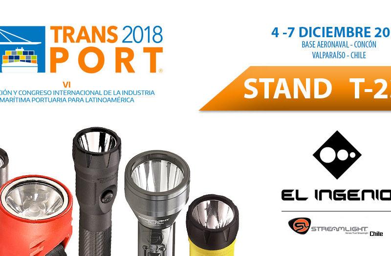 El Ingenio y linternas Streamlight estarán en TRANS-PORT 2018